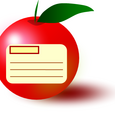 りんごのカード