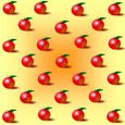 りんごの紙 黄色