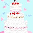 ウェディングケーキ・・