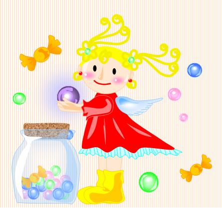 魔法のキャンディー