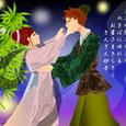 季節7月 七夕 織姫と彦星