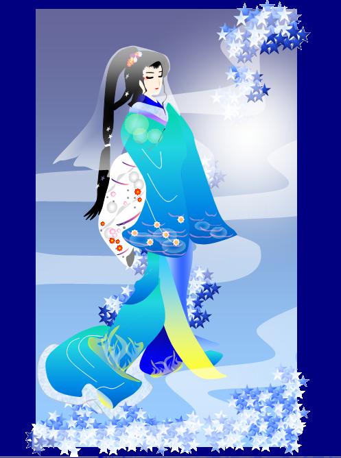 美人画 冬